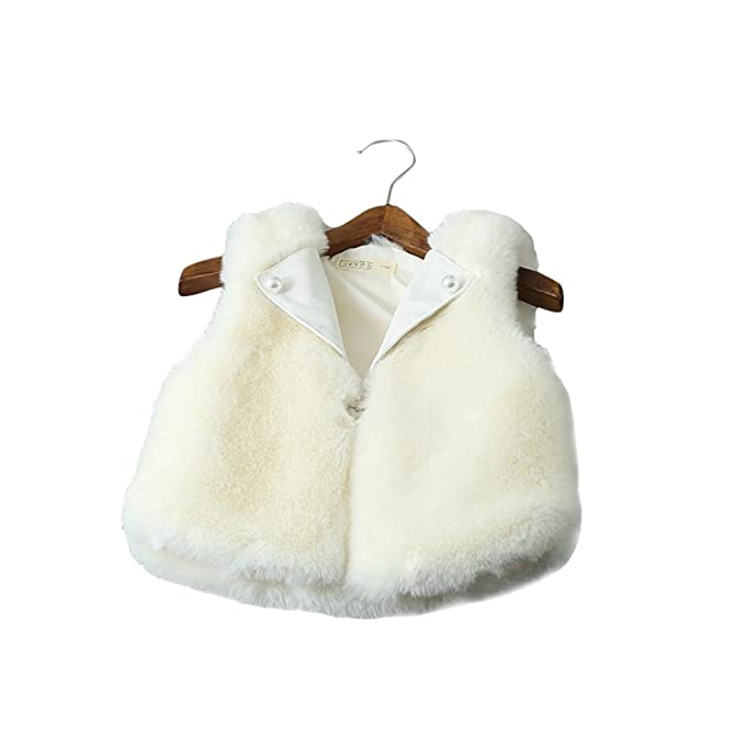 Corala - Abrigo - para niña Blanco blanco XX-Small: Amazon.es: Ropa y accesorios