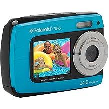 Sakar IF045-BLUE-KM Polaroid 14 Mp Dual Screen Waterproof Digital Camera with 2.7-Inch LCD (Blue)