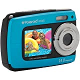 Sakar IF045-BLUE-KM Polaroid 14 Mp Dual Screen Waterproof Digital Camera with 2.7-Inch LCD (Blue)