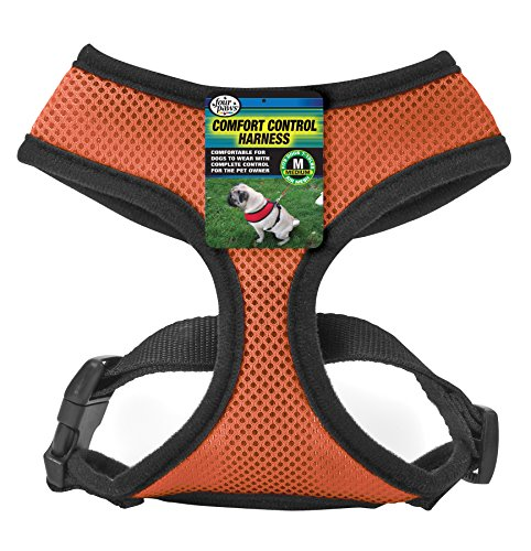 (Four Paws Extra Small Orange Comfort Control Dog Harness)