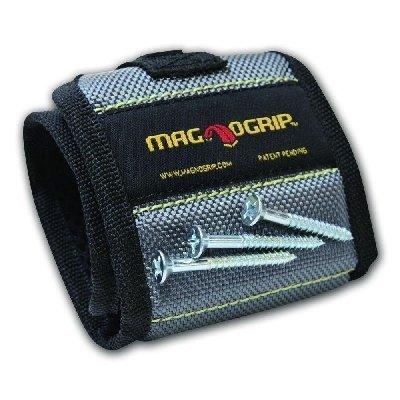 MagnoGrip 002-160 Magnetic Wristband, Platinum by MagnoGrip