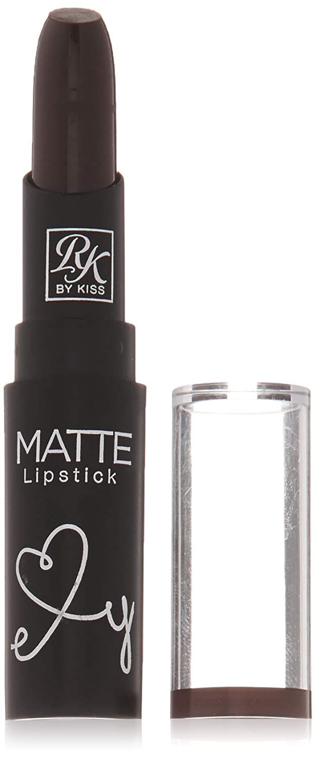 Ruby Kisses Ultra Matte Super Rich Lipstick 3.5g/0.12oz (RMLS13 DARK PLUM SCENE)