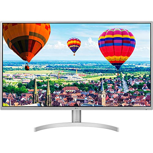 Computer Monitor Split (LG 32QK500-W 32-Inch QHD (2560 X 1440) IPS Monitor with Radeon Freesync Technology and On-Screen Control)