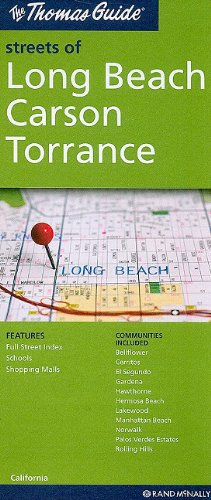 The Thomas Guide Streets of Long Beach/ Carson/ Torrance - Torrance Carson