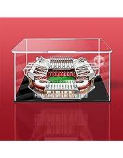 ColiCor Acryl Vitrine voor LEGO Creator Manchester United - Old Trafford Stadium 10272, stofdichte displaybox, compatibel met Lego 10272