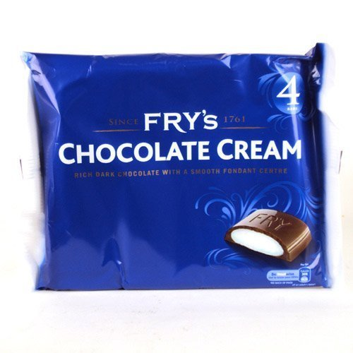 Chocolate Peppermint Creams - Frys Chocolate Cream 4 Pack 200g