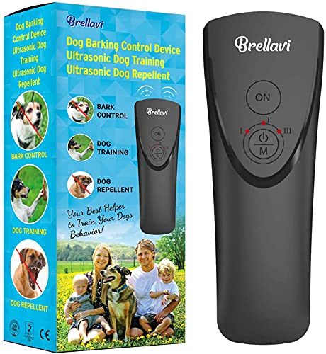 Boss Pet Products Anti Barking Device, Upgraded Bark Control Device for Dog Training and Barking Control, High Pitch…