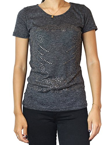 Vila - Vila Camiseta Melva Gris