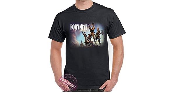 Fortnite Battle Royale Save The World de nuestra exclusiva gama de camisetas. Un regalo original de cumpleaños o Navidad para mamá, papá, hermana, ...