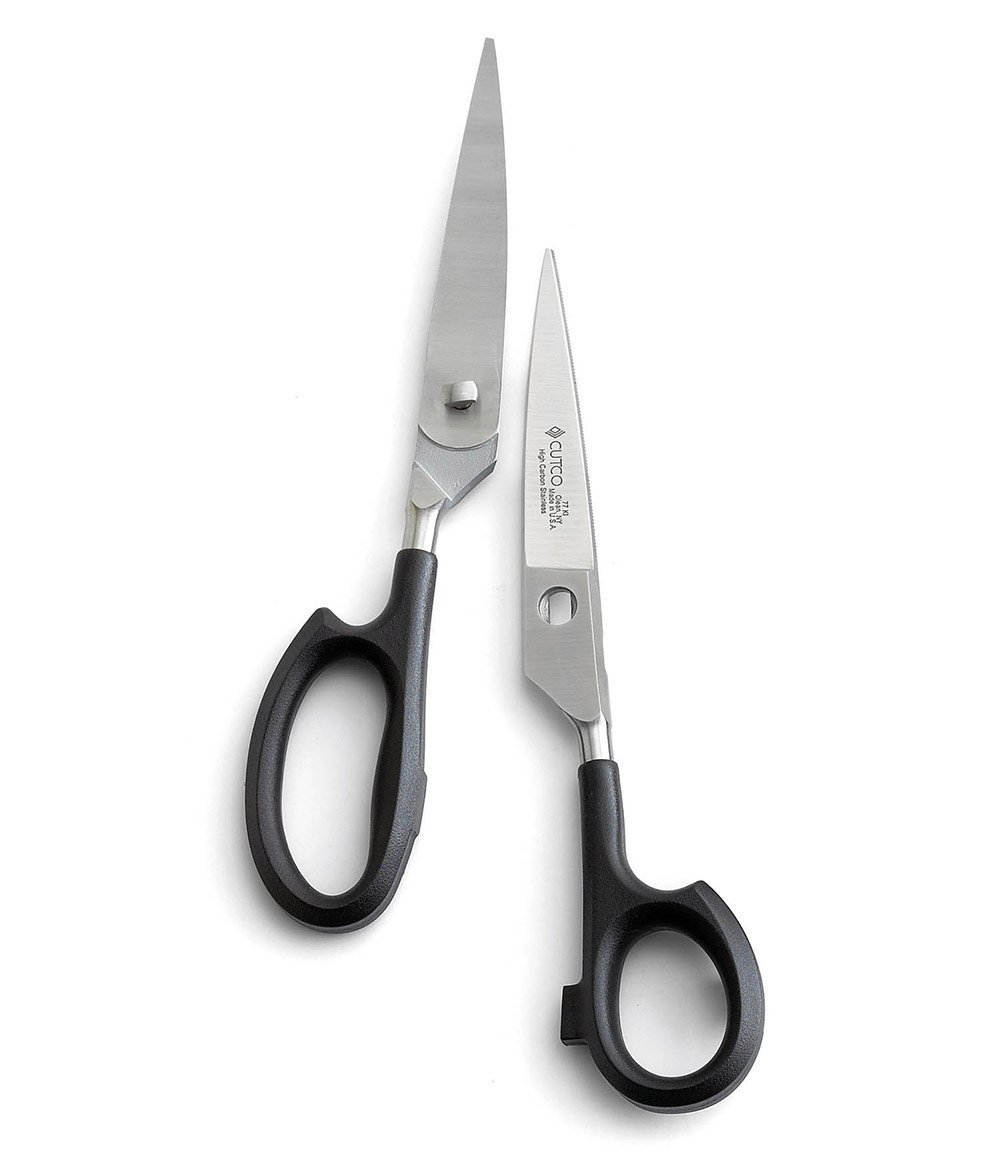 New Model 77 CUTCO Super Shears still in the box from the factory. . . . . . . . . . . . . . High Carbon Stainless blades and black handles. by Cutco Cutlery
