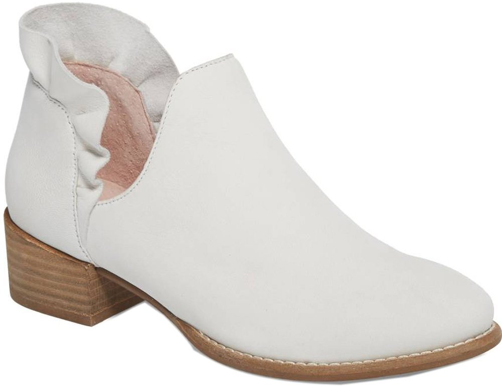 Seychelles Women's Renowned Ankle Boot B079HV2YRQ 7.5 B(M) US|White Nubuck