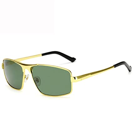 Gafas De Sol Polarizadas De Los Hombres Gafas De Sol Metálicas De La Caja Llena Gafas