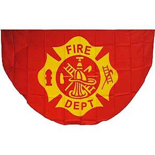 Fan Fire Department Logo 3ft x 5ft