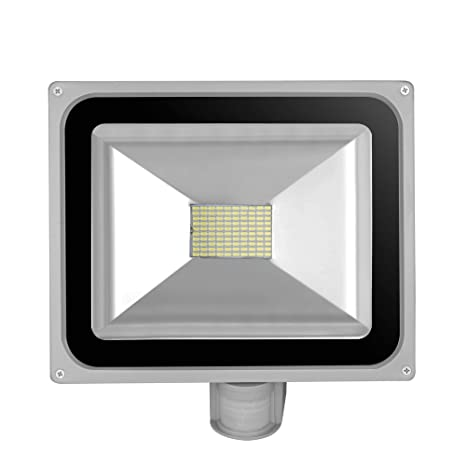 10W 20W 30W 50W 100W LED Focos Luces de Inundación Iluminación Exterior con Sensor Movimiento IP65