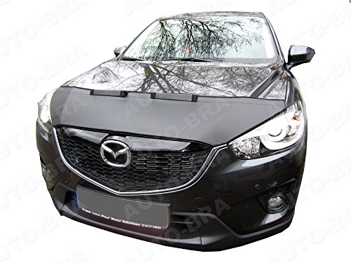 AB3-00060 CUSTOM CAR HOOD BRA for Mazda CX-5 2011-2017 Front End Nose Mask Bonnet Bra STONEGUARD PROTECTOR TUNING