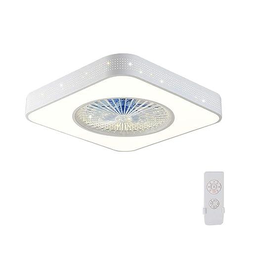 Ventilador Techo Luz De Tres Velocidades Temporización Ajustable ...