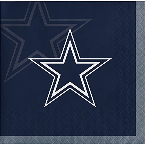 Dallas Cowboys Beverage Napkins, 48 - Cowboys Beverage