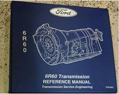 2009 2010 2011 FORD EXPLORER MERCURY MOUNTAINEER SPORT TRAC Transmission Manual