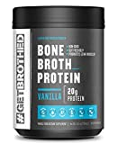 Original Bone Broth Protein Powder (30 FULL Servings) | Vanilla | Paleo Protein, Keto & Low Carb Friendly Supplement For Gut & Joint Support | NON GMO, Gluten Free, Soy Free & Dairy Free Review