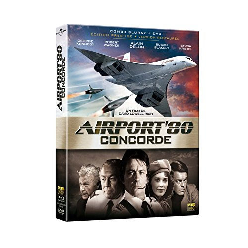 Combo Airport (Airport '80: The Concorde ( The Concorde... Airport '79 ) ( Airport 1979 (Airport 1980) ) (Blu-Ray & DVD Combo) [ Blu-Ray, Reg.A/B/C Import - France ])
