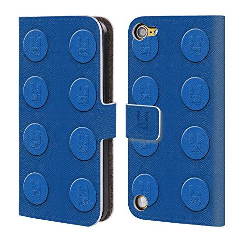 Head Case Designs Bianco Mattoncini Cover a portafoglio in pelle per iPod Touch 5th Gen / 6th Gen