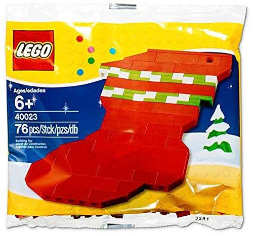 LEGO Christmas Mini Figure Set #40023 Holiday Stocking Bagged Holiday Figure Set