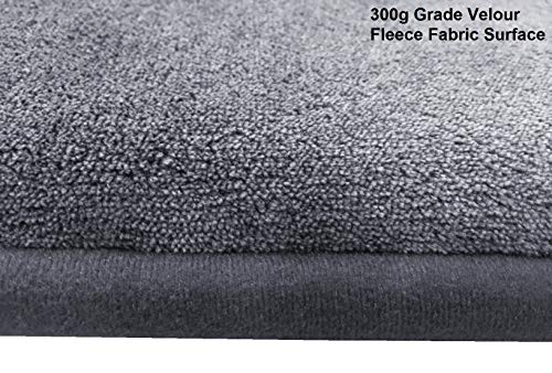Dogbed4less Memory Foam Gel Cooling Pet Dog Bed Mat Pillow Topper Large 42''X28'' Crate Size, Grey Color by Dogbed4less (Image #6)