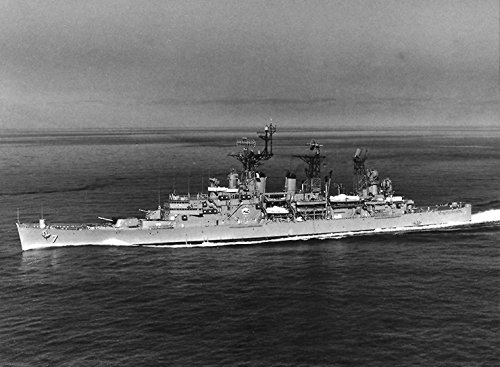 (Home Comforts Laminated Poster The U.S. Navy Guided Missile Cruiser USS Springfield (CLG-7) underway. She Received Two New radars i Vivid Imagery Poster Print 24 x 36)
