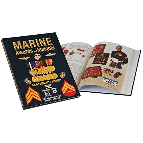 Medals of America Marine Awards and Insignia Hardcover Multicolored (Army Awards And Ribbons Order Of Precedence)