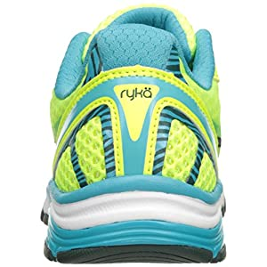 RYKA Women's Vida RZX Cross Trainer, Lime/Blue/Teal, 9 M US