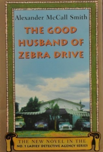 Husband Zebra Ladies Detective Agency