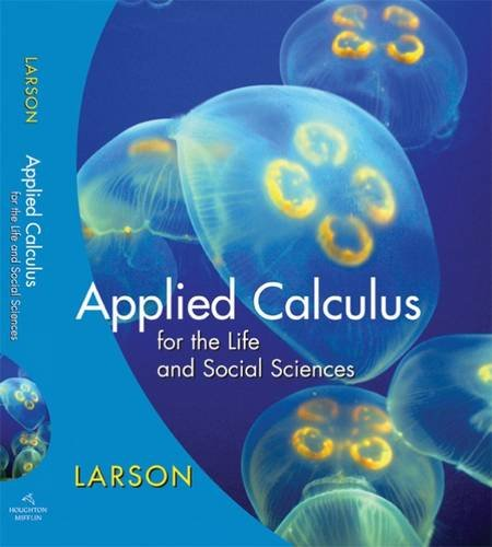 Applied Calculus F/Life+Social Sciences