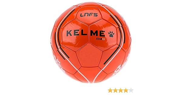 KELME Balón Fútbol Sala LNFS -Naranja-: Amazon.es: Deportes y aire ...