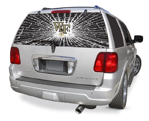 Wake Forest Demon Deacons Shattered Auto Rear Window Decal