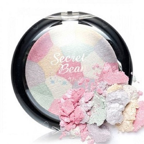 Etude House Secret Beam Highlighter, Pink/White Mix, 1.6 Ounce (White Face Makeup Powder)