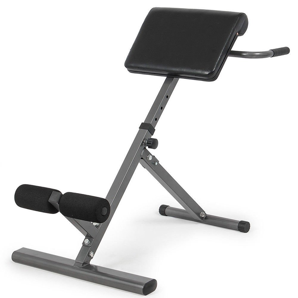 Ab Bench Roman Chair Hyperextension Bench Gym Exercise Sit Up Bench New