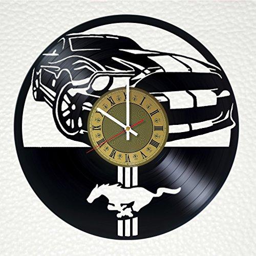 mustang car clock - 2