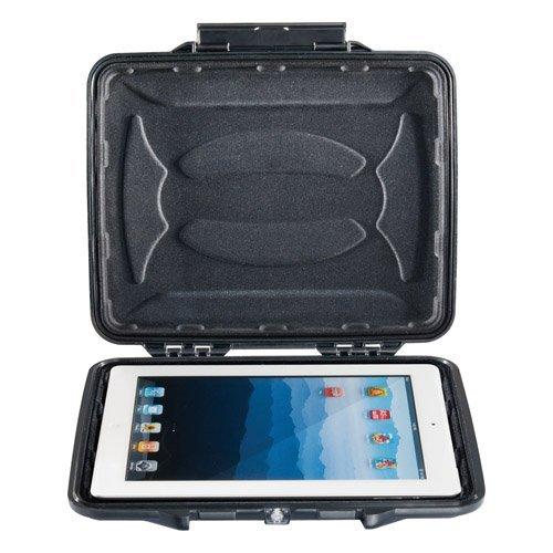 Peli / Pelican 1065CC HardBack Samsung Galaxy Tab 4 10.1 LTE (T535) Rugged Case (Crushproof, Dustproof, Watertight Design, Shock-Absorbing Molded Foam Liner, 1065-003-110)