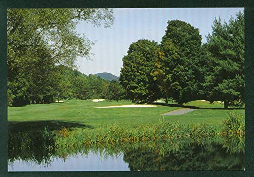 Woodstock Inn and Resort Vermont Country Club Golf Course Postcard