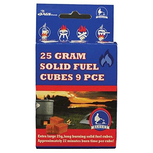 (Bleuet Brand Solid Fuel Cubes,)
