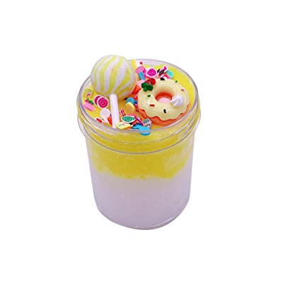 Xuways Newest 120ml Mixing DIY Cloud Cotton Mud Cake Candy Crystal Slime Scented Toy Kids Gift: Home & Kitchen