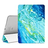Ayotu iPad Pro 10.5 Case,Slim Lightweight Auto Wake/Sleep Smart Stand Cover Case with Translucent Frosted Back Magnetic Cover for Apple iPad Pro 10.5 Inch 2017 Release Tablet-The Oil Painting