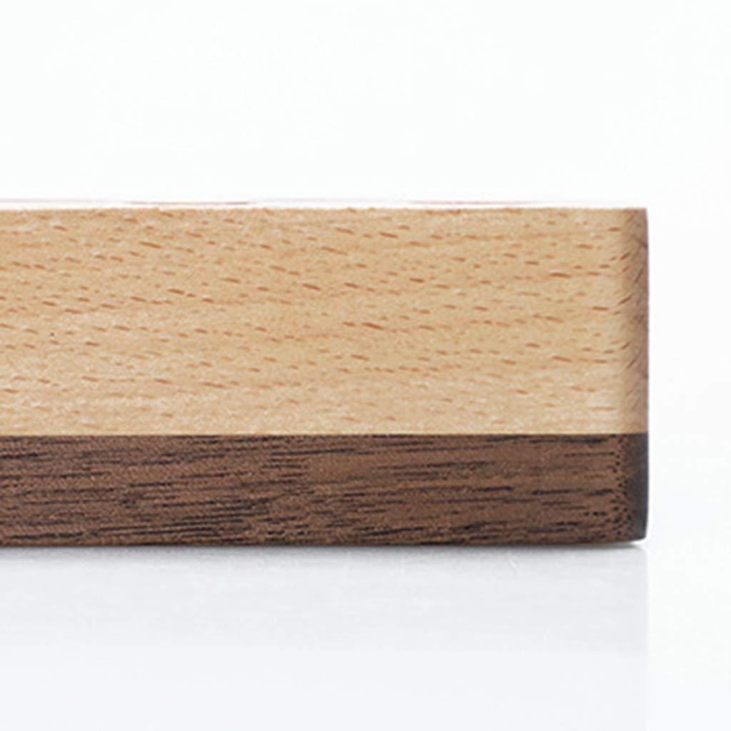 portaoggetti da scrivania Sitonelectic Porta biglietti da visita in legno accessori da ufficio 01 Espositore per biglietti da visita