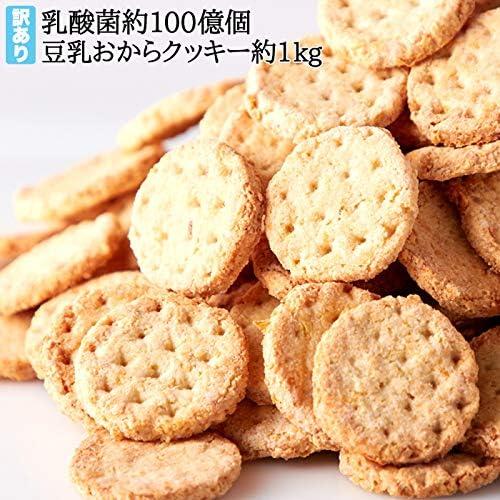 【訳あり】豆乳 おからクッキー 乳酸菌入り (乳酸菌, お試し250g)