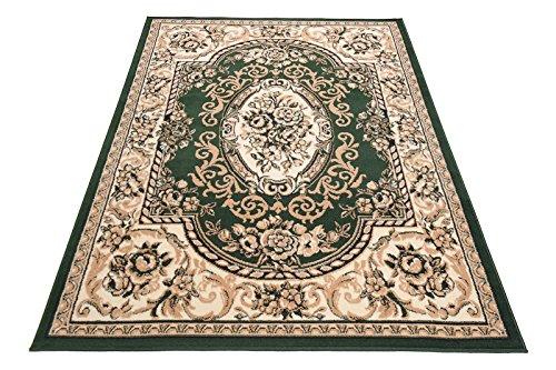 Teppich Klassisch Gemustert Orient Ornamente Königlich Königlich Königlich Muster in Grün (140 x 200 cm) B07KQD4NCS Teppiche 717c53