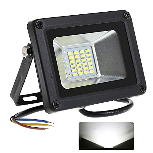 NNDA CO Waterproof LED 176-264V Projector LED Floodlight Refletor Spotlight for Garden, Yard, Warehouse Sidewalk,T-SUNRISE (20W)Pure - Spotlight By Warehouse