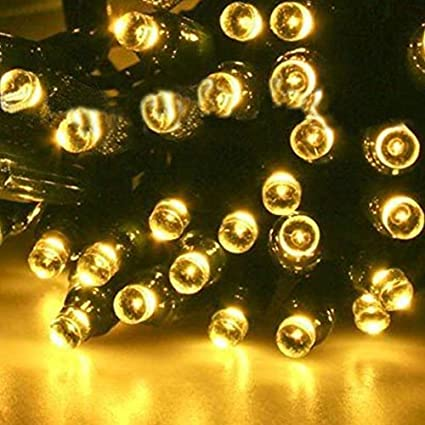 Amazon sogrand solar string lights outdoor decorative sogrand solar string lights outdoor decorative waterproof 200 warm white led fairy light garden decorations 2018 aloadofball Image collections