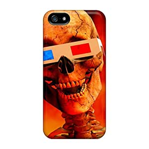 Premium Iphone 5/5s Cases - Protective Skin - High Quality For 3d Skull Black Friday