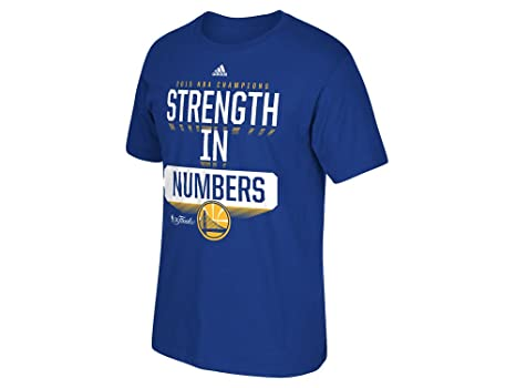 online store de8aa 50bae adidas Golden State Warriors 2015 NBA Finals Champs Strength in Numbers  T-Shirt