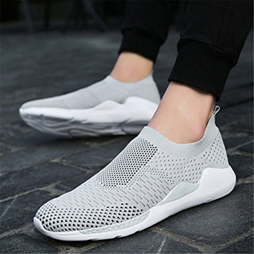 Gracosy Baskets Mode Homme Femme, Sneakers sans Lacets